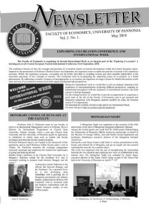 Newsletter borító