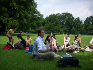 Jlius 1. - Brainstorming az Angol parkban