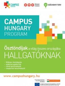 Campus Hungary ösztöndíjak