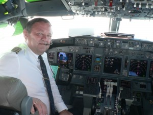 Depinyi János, pilota