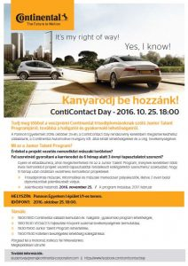 ContiContact Day