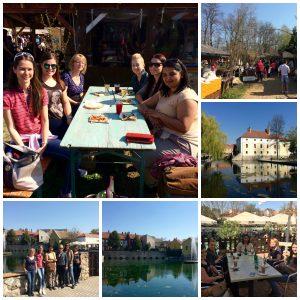Tanulmányi kirándulás a Liliomkert piacon és a Tapolca Expon