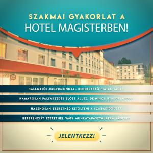 Szakmai gyakorlat a Hotel Magisterben