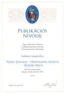 Publikációs Nívódíj