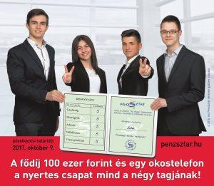 PénzSztár Hazai és Határon Túli Magyar Középiskolák Pénzügyi, Gazdasági és Vállalkozási Versenye