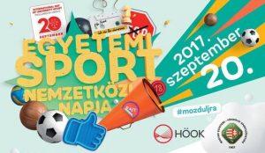 Egyetemi Sport Nemzetközi Napja - 2017. 09. 20.