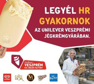 Legyél HR Gyakornok az Unilever Veszprémi Jégkrém Gyárában!