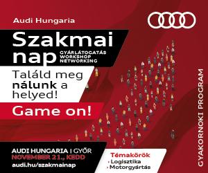 Audi Hungaria Szakmai nap