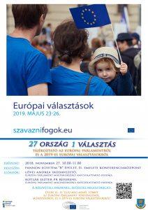 Előadás az EP-ről és a 2019-es Európai Választásokról