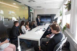 Hallgatónk az Ernst&Young nyílt napján járt